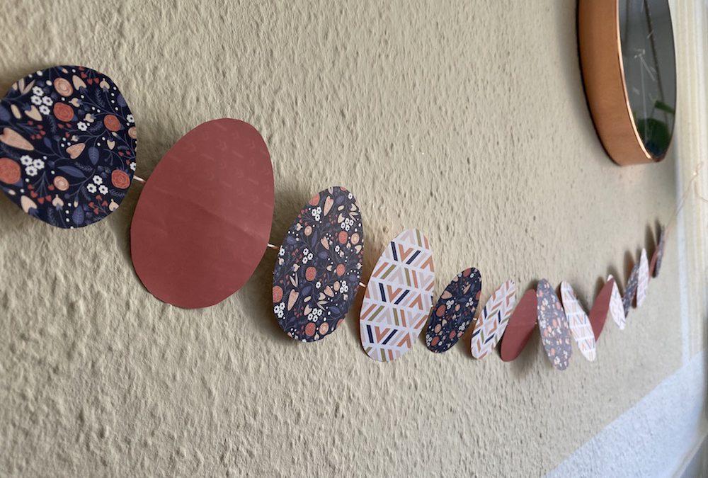 Osterdeko – schnelle DIY Girlande