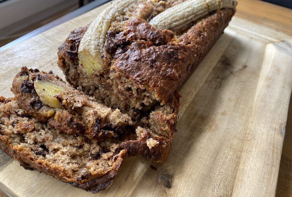 Veganes saftiges Bananenbrot – ganz einfach