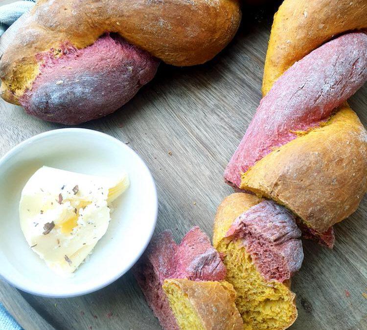 Rote Bete- Kürbis- Brot